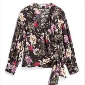 Collective Concepts Ciana wrap blouse